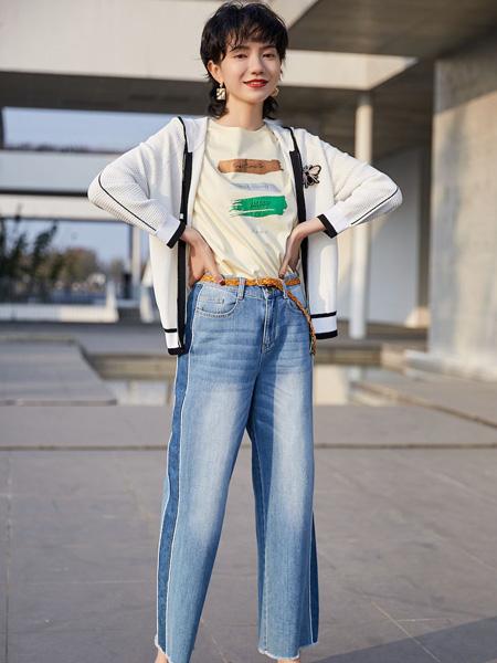 雀啡女装品牌2020春夏白色薄款外套