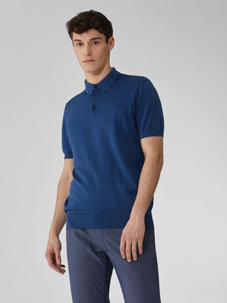 Trussardi 1911国际品牌2020春夏修身polo衫短袖