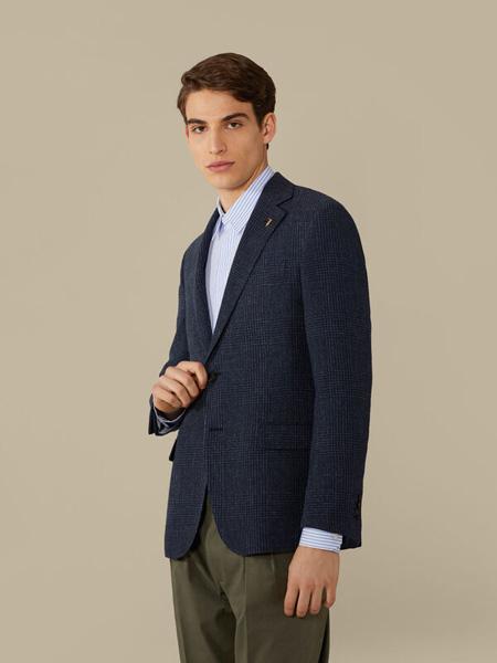Trussardi 1911国际品牌品牌2020春夏休闲复古西装外套