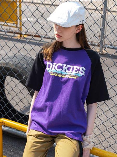 Dickies国际品牌2020春夏宽松五分袖圆领T恤