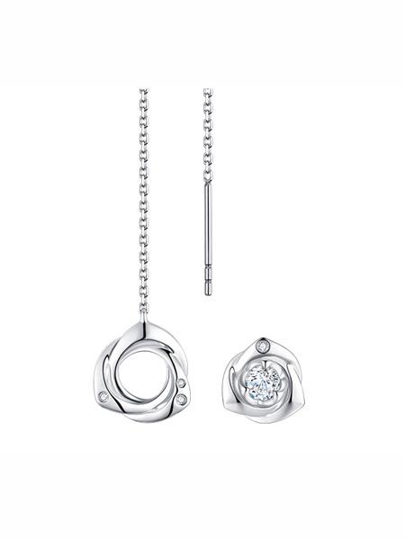 金嘉利国际品牌设计感简约耳饰耳环