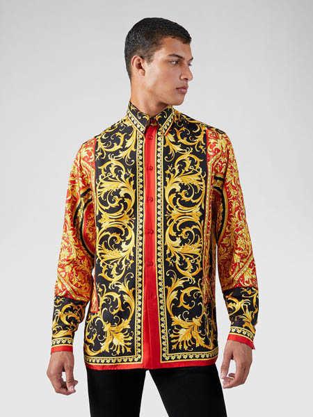Versus国际品牌休闲复古夹克衫外套