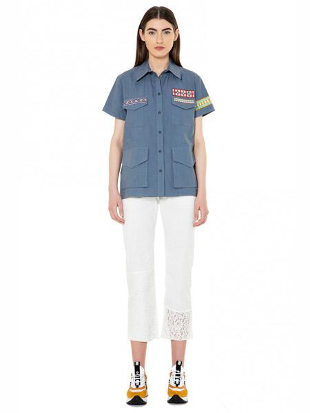 Mr&Mrs Italy国际品牌品牌休闲夹克短袖