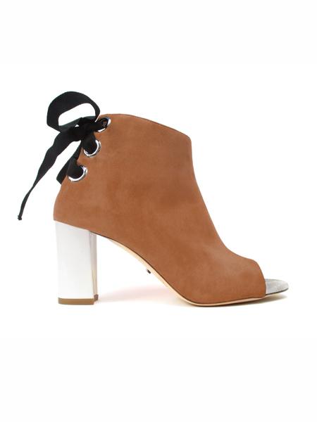 Jerome C. Rousseau国际品牌细跟高跟皮鞋
