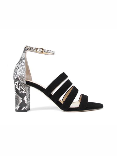 Jerome C. Rousseau国际品牌粗跟个性凉鞋