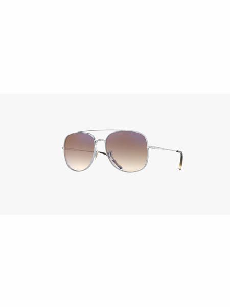 Oliver Peoples国际品牌品牌复古一体式鼻托设计经典太阳镜墨镜
