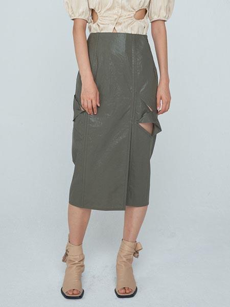 WNDERKAMMER国际品牌品牌收腰显瘦半身裙