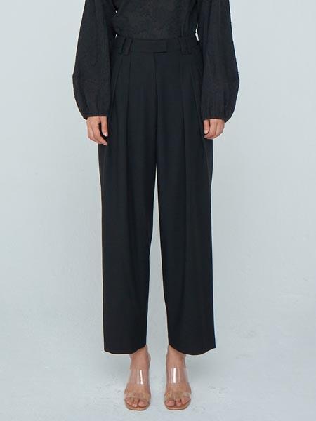 WNDERKAMMER国际品牌品牌宽松显瘦阔腿裤