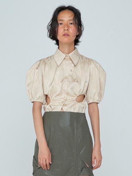 WNDERKAMMER国际品牌品牌宽松泡泡袖衬衫