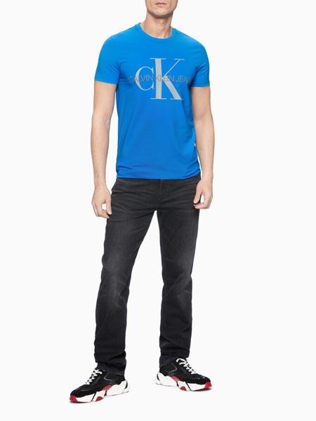 CALVIN KLEIN JEANS国际品牌休闲运动短袖