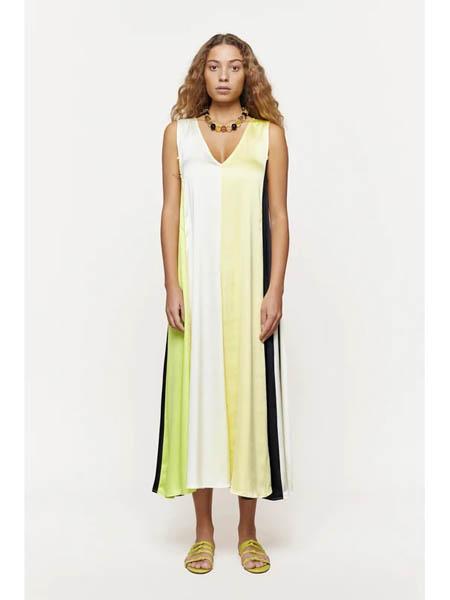 Stine Goya国际品牌品牌宽松吊带裙长款连衣裙