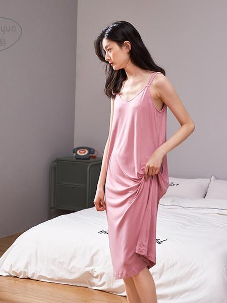 静韵内衣品牌睡裙睡衣女士性感冰丝吊带薄款家居服可爱大码宽松中长款