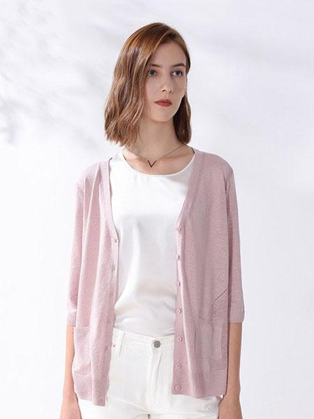 科蒙博卡女装品牌2020春夏时尚防晒针织衫