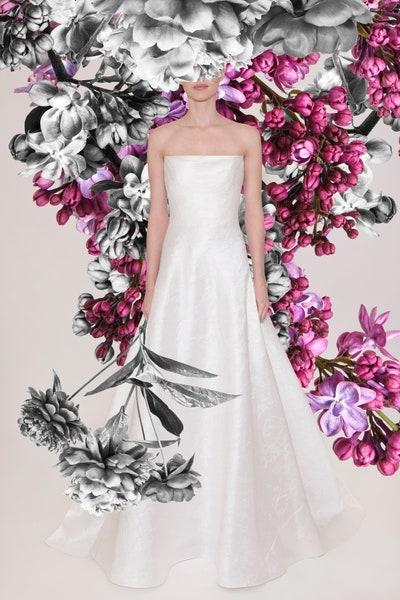 Reem Acra雷姆·阿克拉 2021春季婚纱系列