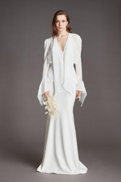 Roland Mouret罗lan・mulei 2021春季婚纱系列