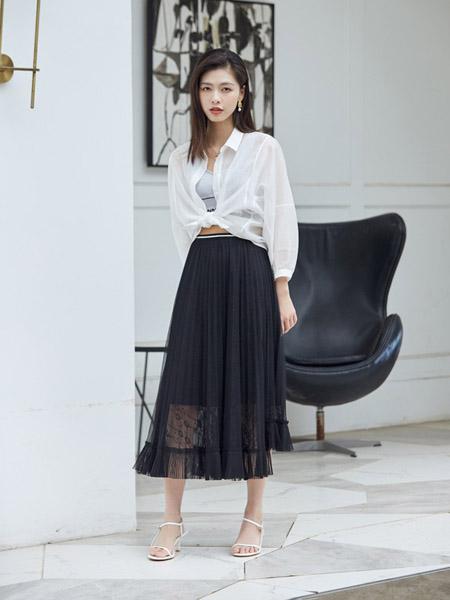 尼赫菲女装品牌2020春夏白色薄款防晒衣外套