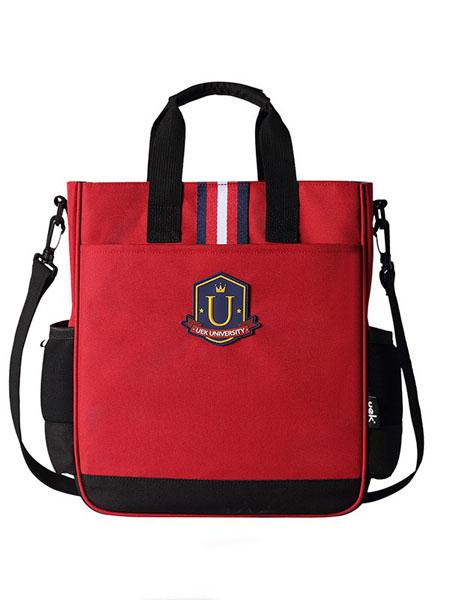 UEK箱包品牌2020春夏简约斜跨帆布包书包