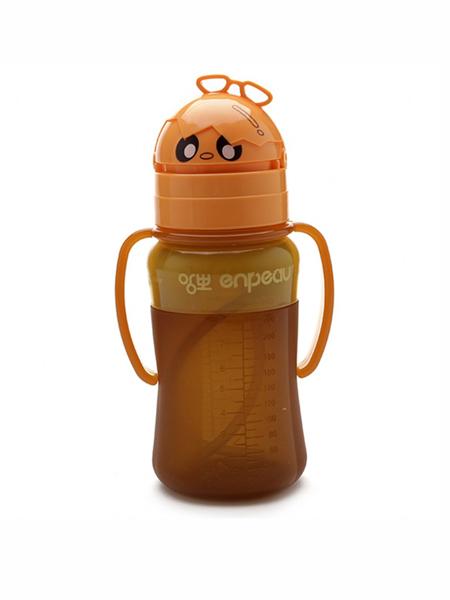 英宝国际品牌进口儿童水杯吸管宝宝学饮杯喝水杯防摔漏水壶