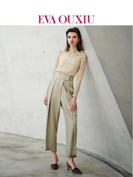 伊华·欧秀女装品牌2020春夏时尚高腰哈伦裤显瘦天丝亲肤休闲长裤子