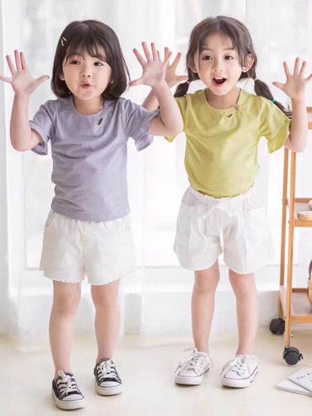 宾果童话童装品牌2020春夏轻肤女童纯棉T恤