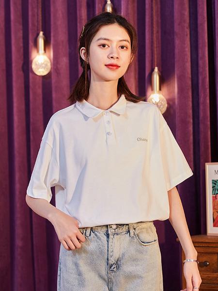 唐狮休闲品牌2020春夏学院风纯棉polo衫短袖