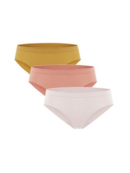NEIWAI内外内衣品牌2020春夏3条装|少女低腰内裤组合装贴合弹力亲肤透气学生