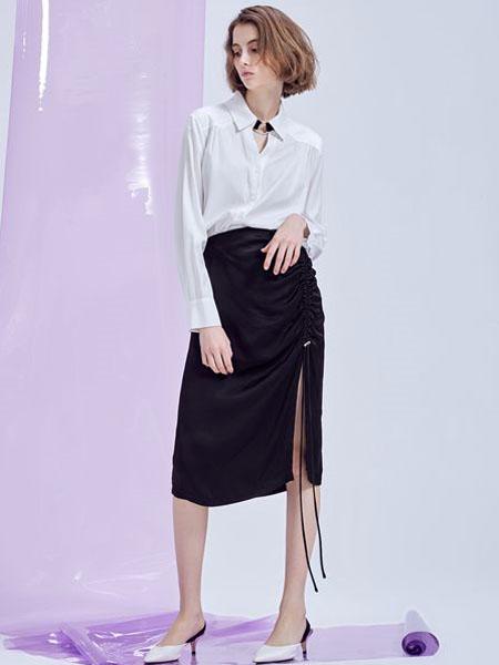 M.STUDIO女装品牌2020春夏白色衬衫雪纺衫