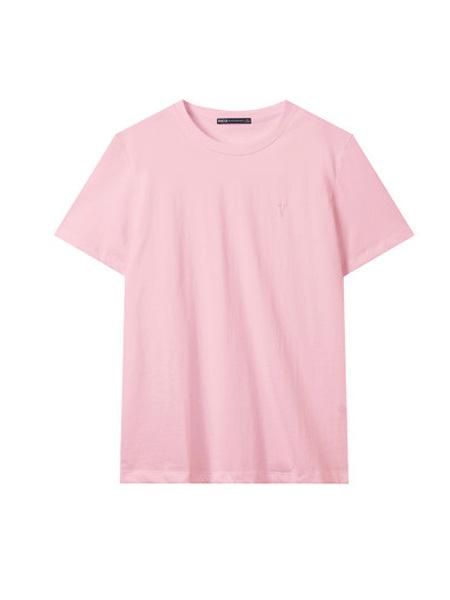 翡翠男装品牌2020春夏T恤男短袖纯色宽松上衣服2020新款休闲体恤
