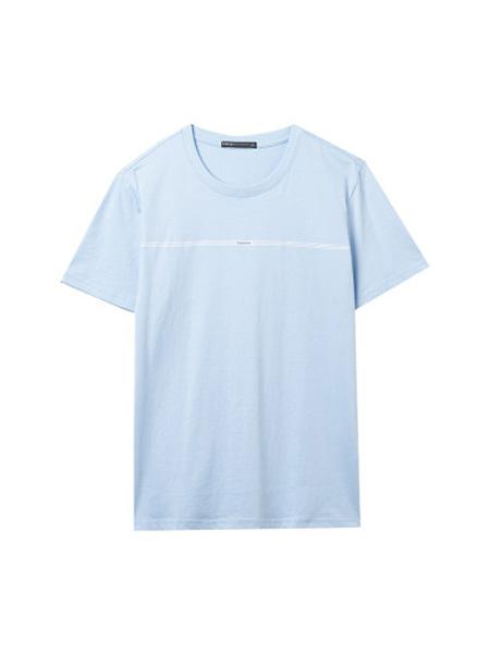 翡翠男装品牌2020春夏短袖T恤纯棉透气宽松休闲圆领t恤男潮