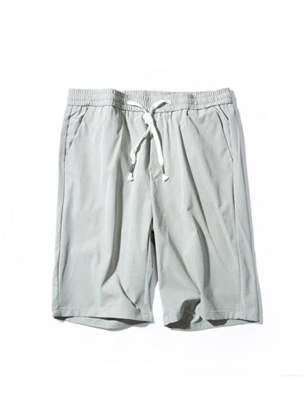 翡翠男装品牌2020春夏休闲短裤男薄款透气帅气夏季新款男士中裤子五分裤