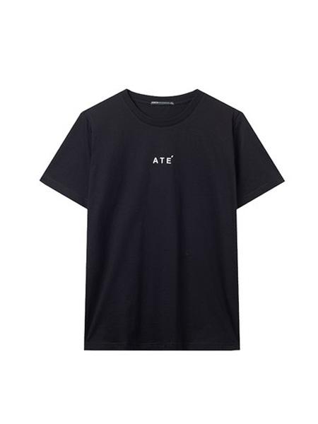 翡翠男装品牌2020春夏纯棉短袖T恤男士圆领上衣韩版时尚体恤潮