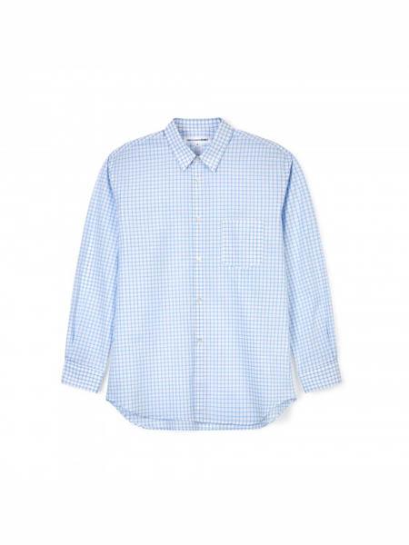 Comme des Garcons国际品牌浅蓝职场衬衫