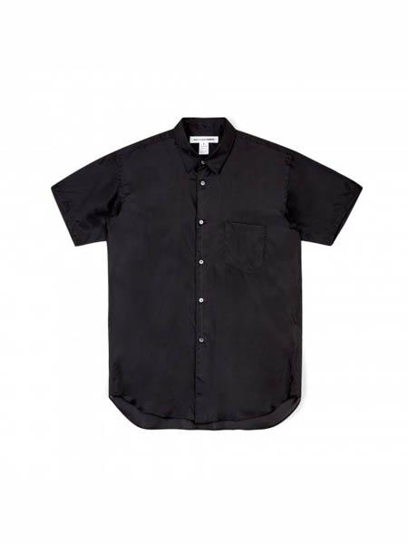 Comme des Garcons国际品牌棉麻短袖衬衫