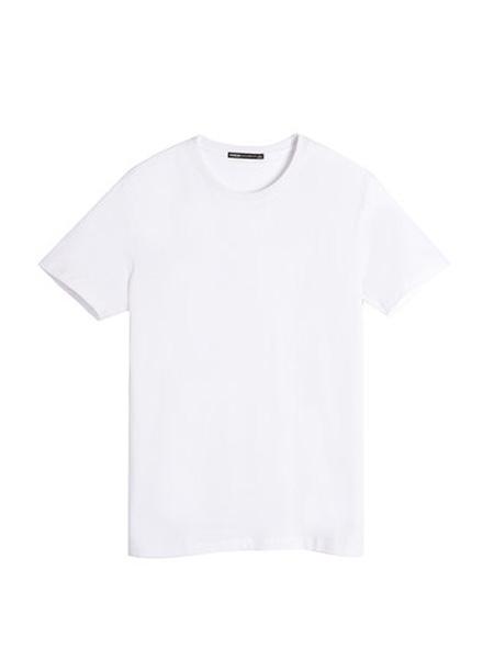 翡翠男装品牌2020春夏短袖T恤男纯色丅恤学生潮流纯棉潮牌体恤t恤男