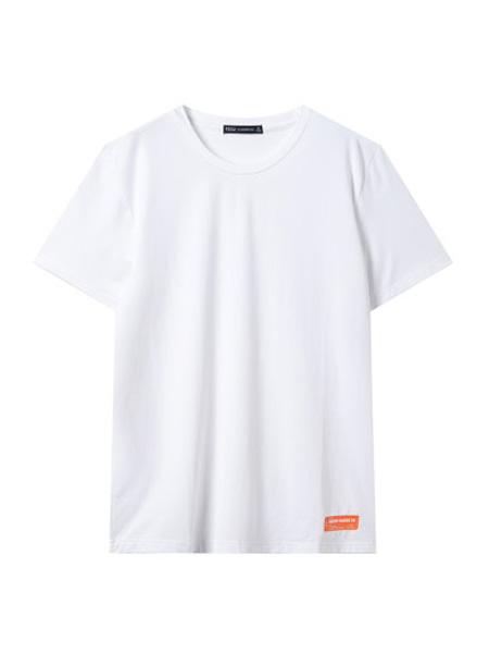翡翠男装品牌2020春夏纯色短袖t恤男韩版帅气潮流青年体恤
