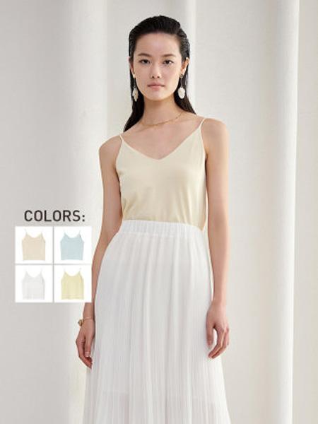 洛可可女装品牌2020春夏性感美背吊带网红爆款