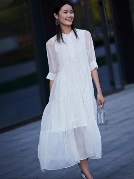 洛可可女装品牌2020春夏法式复古气质连衣裙女宽松蛋糕裙