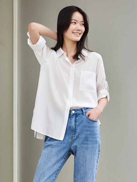 洛可可女装品牌2020春夏衬衫女设计感小众