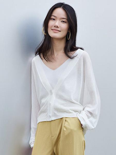 洛可可女装品牌2020春夏纽扣V领短款女士外套宽松上衣