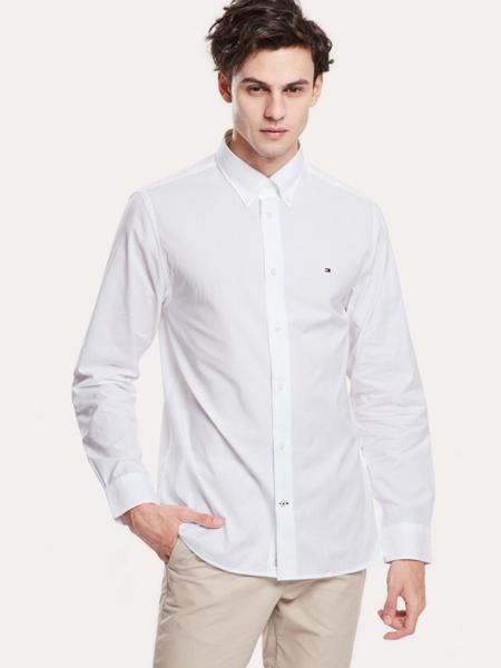 Tommy Hilfiger国际品牌棉麻休闲衬衫上衣