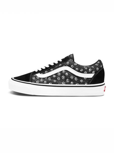 Vans国际品牌复古格子帆布鞋
