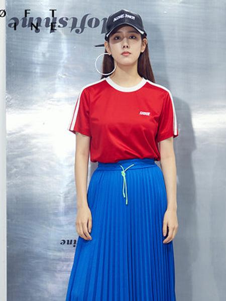 LOFT SHINE女装品牌2020春夏撞色T恤