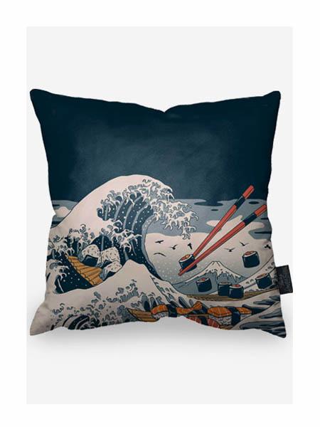 Audrey Kawasaki国际品牌创意寿司图案抱枕