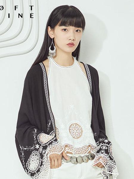 LOFT SHINE女装品牌2020春夏无袖花版打底上衣