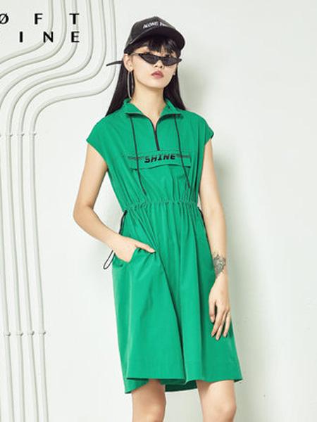 LOFT SHINE女装品牌2020春夏抽绳运动连衣裙