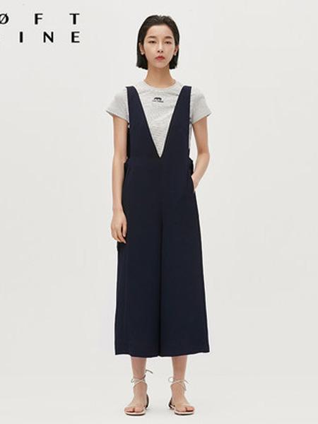 LOFT SHINE女装品牌2020春夏纯色休闲背带裤
