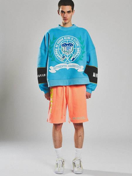 Willy Chavarria国际品牌休闲运动套装两件套