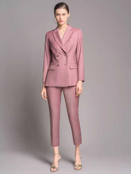 TieForHer女装品牌2020春夏职场白领女性西装套装