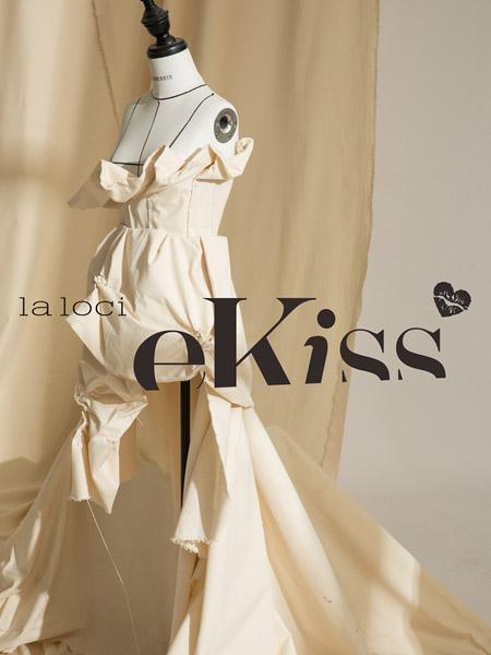 衣之吻女装品牌2020春夏米白色连衣裙