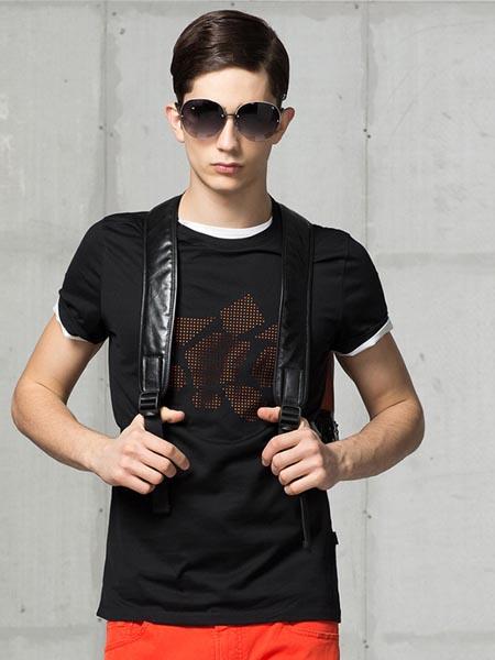ZIOTELLO国际品牌新款帅气百搭短袖T恤